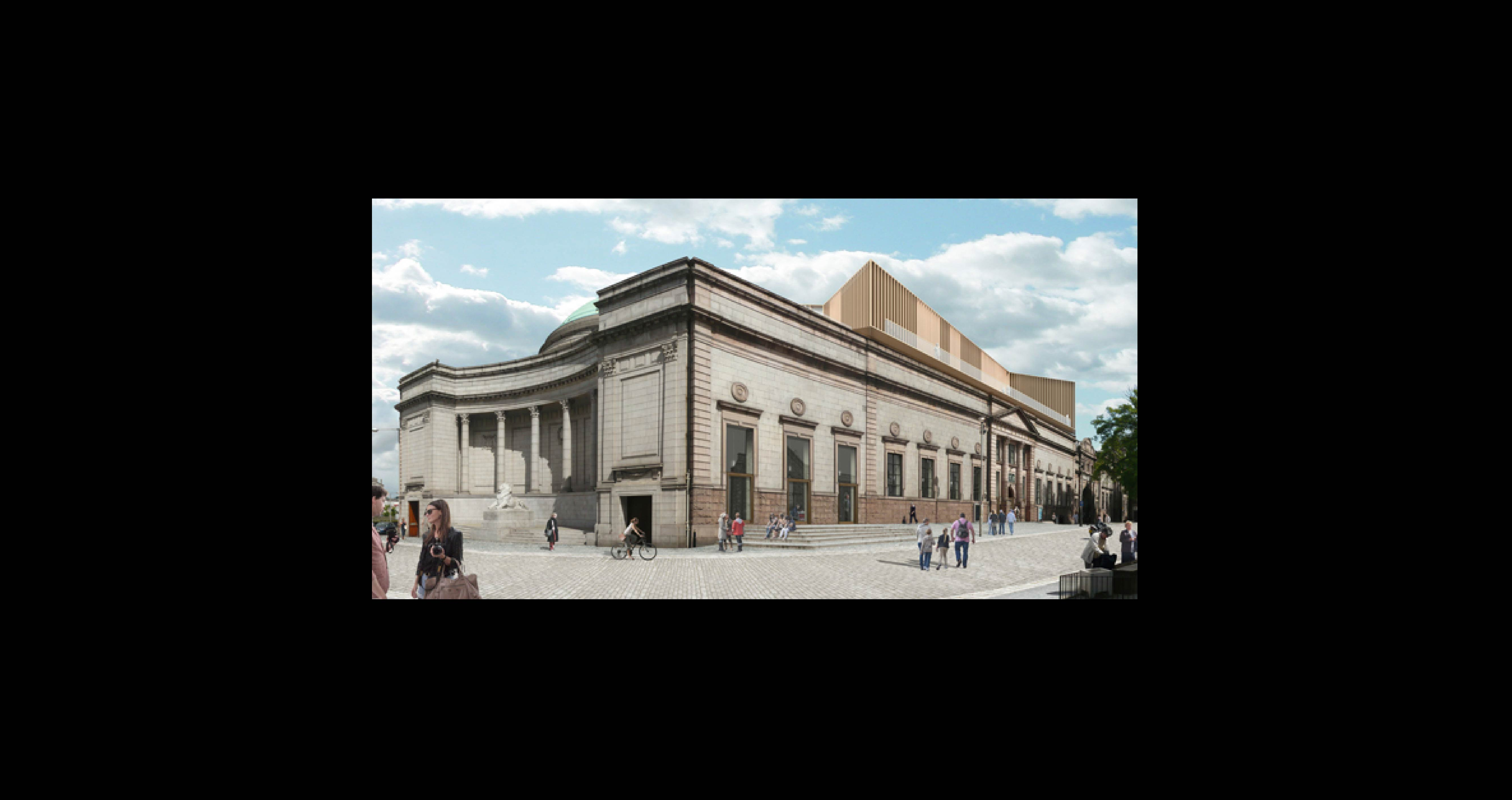 Proposed redevelopment @Aberdeen Art Gallery.